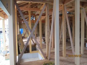 二世帯住宅を建てる過程「上棟式」3