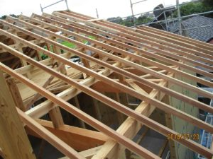 二世帯住宅を建てる過程「上棟式」2