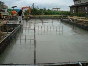 宇都宮市で平家を建てる過程「基礎打ち工事」3