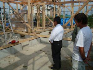 宇都宮市で平家を建てる過程「上棟」2