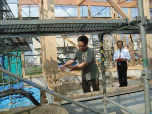 宇都宮市で平家を建てる過程「上棟」3
