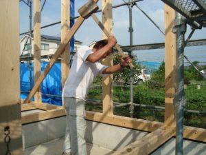 宇都宮市で平家を建てる過程「上棟」4