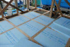 宇都宮市で平家を建てる過程「床暖熱」2