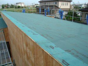 宇都宮市で平家を建てる過程「屋根」1