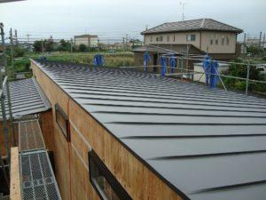 宇都宮市で平家を建てる過程「屋根」2